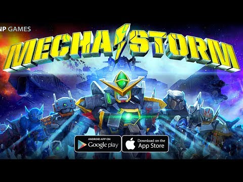 [Android/IOS] Mecha Storm: Advanced War Robots - SF + Robot MMORPG Gameplay