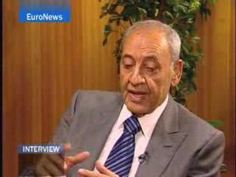 EuroNews - EN - Interview - Nabih Berry