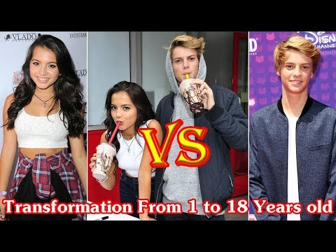 Jace Norman And Isabela Moner Transformation From 1 To 18 Years Old