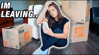 I'm Moving Away & Quitting YouTube Prank On Fiancé! *EMOTIONAL*