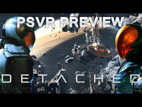 Detached (PSVR) preview | Hardcore Space Exploration Sim
