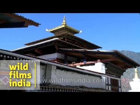 Kyichu Lhakhang in Lamgong Gewog of Paro District, Bhutan