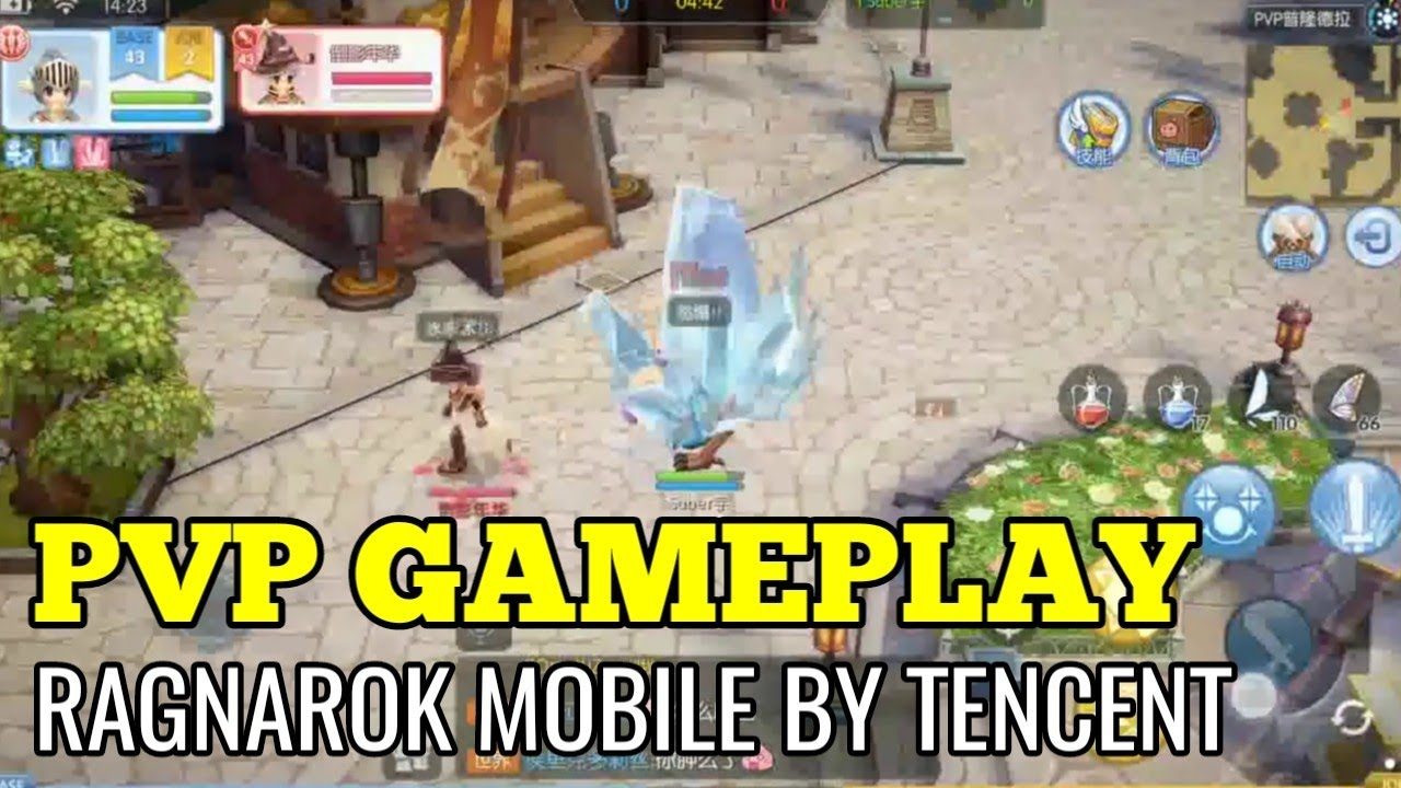 PVP GAMEPLAY test Ragnarok mobile by Tencent