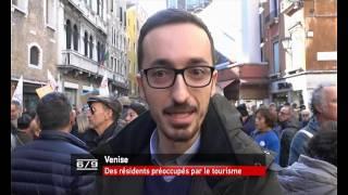 Italie: Les Vénitiens manifestent contre l'exode face au tourisme de masse