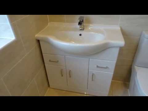 Ensuite refitted at a house on the Morrisons estate in Coventry.