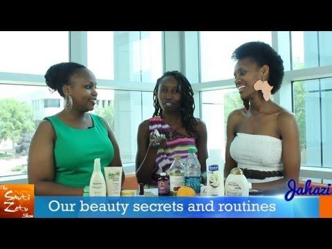 Sauti Zetu Show Beauty Secrets and Routines