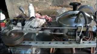 Machine à vapeur cocotte minute