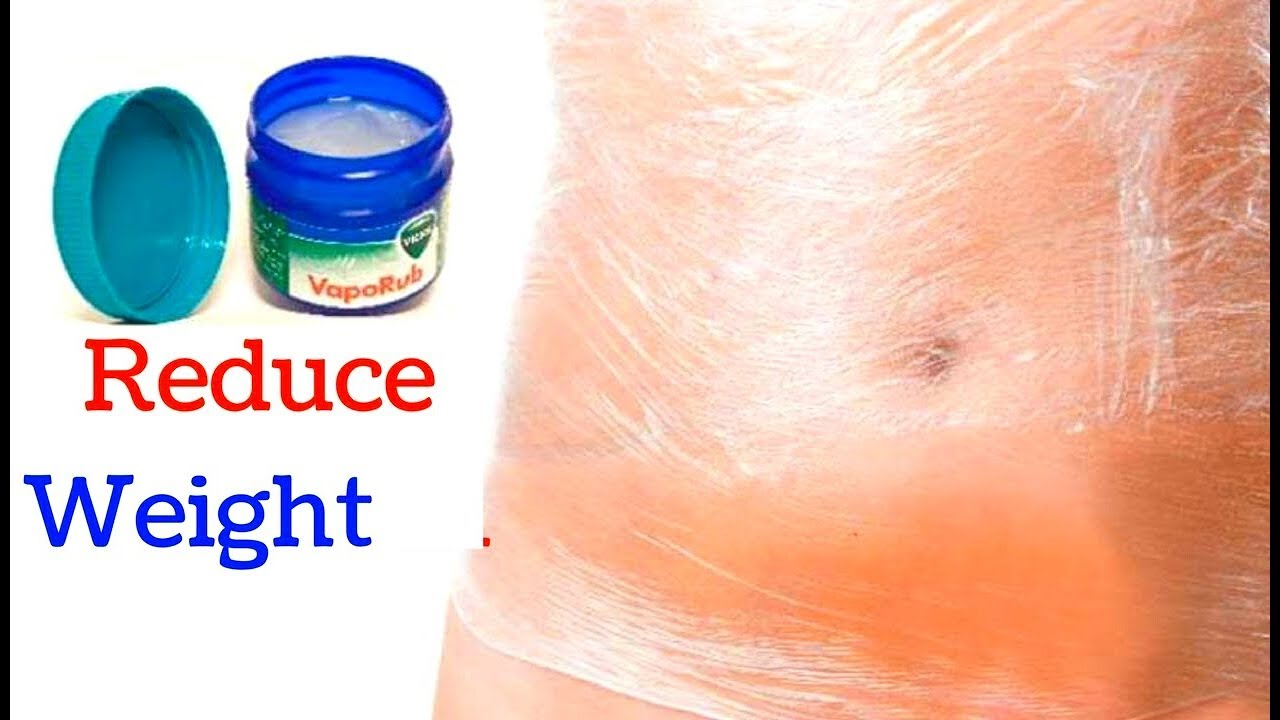 Use Vicks To Remove Belly Fat Overnight Lose Weight Fast Overnight With Vicks