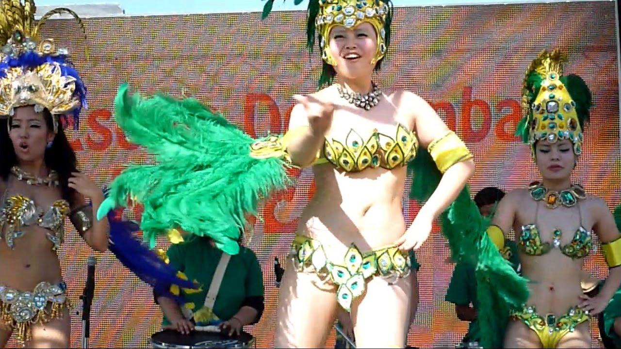 情熱のサンバ(samba) 神戸港ラテンアメリカン・カーニバル2015 Part①