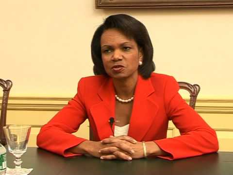 Exclusive interview with Condoleezza Rice