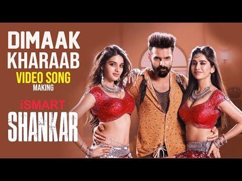 Dimaak Kharaab VIDEO SONG Making   iSmart Shankar   Ram Pothineni Nidhhi Agerwal & Nabha Natesh