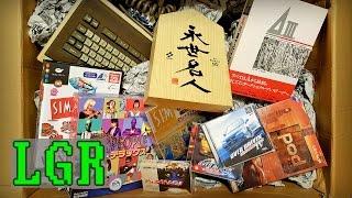 LGR - Got a Huge Box of Japanese PC Stuff!