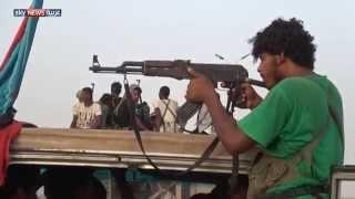 قوات يمنية تعبر منفذ الوديعة لشبوة