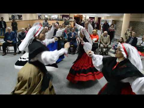 Grupo de danza y gaita de Casa de Galicia - letras gallegas 2018