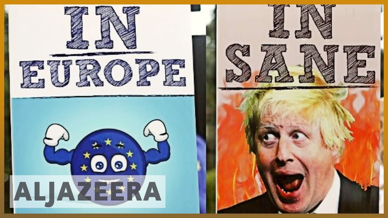 AlJazeera English:Analysis: No-deal Brexit  consequences 'drug and food shortages, protests'