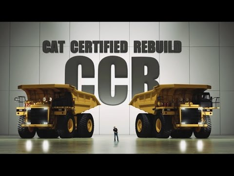 documentary promo film about truck CAT 785 full rebuild.  instagram trailer