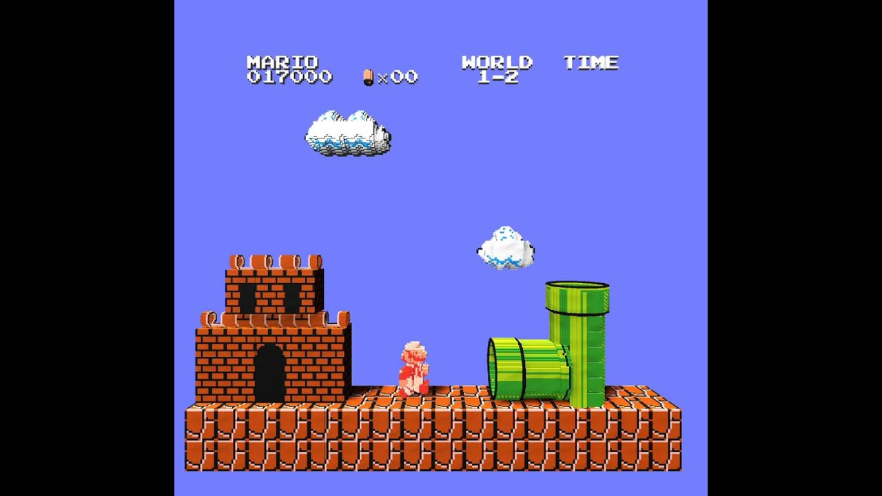 This online emulator turns classic 2D Nintendo games into 3D