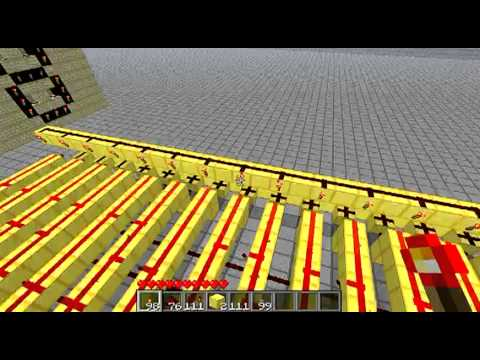 Minecraft Tutorial: Howto Build a Hexadecimal to Binary encoder (decoder)
