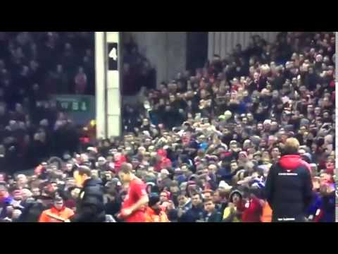 619 days later. John Flanagan return at Anfield
