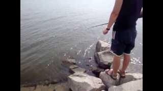 Каховское водохранилище - рыбалка,день 2(, 2013-06-16T10:58:21.000Z)