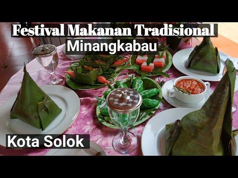festival-makanan-tradisional-minangkabau-i-masakan-khas-kota-solok-i-ketemu-bule-cantik
