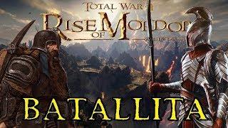 Gambar cover RISE OF MORDOR Total War - IMLADRIS y EREBOR - POR LA TIERRA MEDIA, ¡¡LUCHAMOS!!