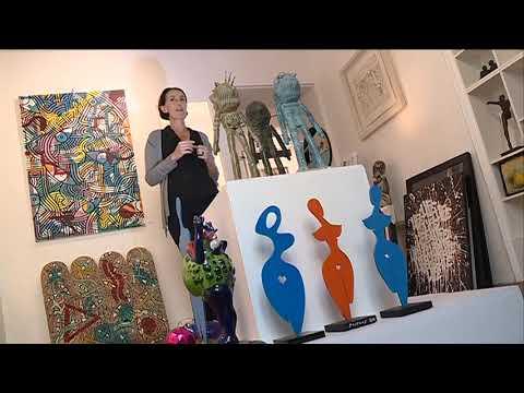 Pascal et Auréa couple de céramistes azuréens dans la vie comme dans leur atelier