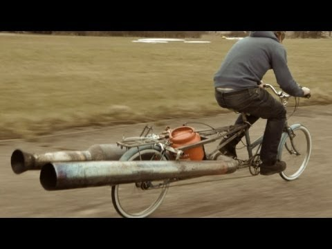 The JET Bicycle - The most dangerous unsafe bike EVER