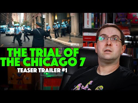 REACTION! The Trial of the Chicago 7 Teaser Trailer #1 – Alex Sharp Movie 2020
