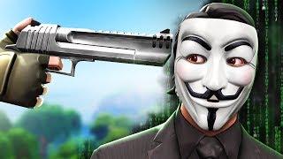 I killed a cheater in fortnite...