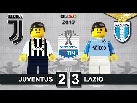 Supercoppa Italiana 2017 • Juventus vs Lazio 2-3 • Italian Super Cup TIM • Lego Football Highlights