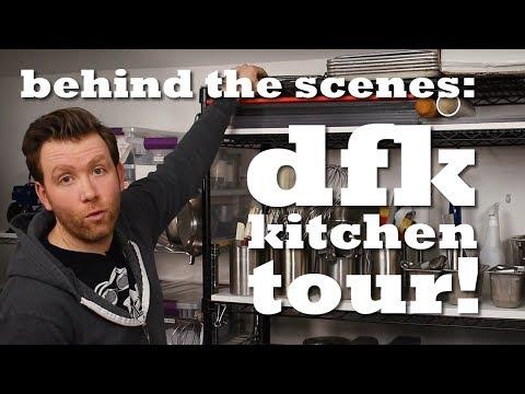 Behind The Scenes: DFK KITCHEN STUDIO TOUR