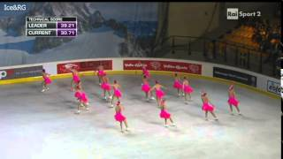 Team Paradise (RUS 1) SP Synchro Worlds 2014