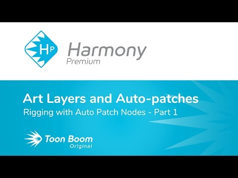 How to Do Rigging with Auto Patch Nodes using Harmony Premium - Part 1