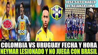 Colombia vs Uruguay ( 0-3 ) | Goles y Resumen Completo