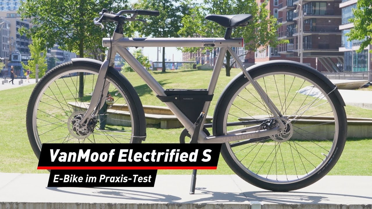 vanmoof electrified s im test das perfekte ebike youtube. Black Bedroom Furniture Sets. Home Design Ideas