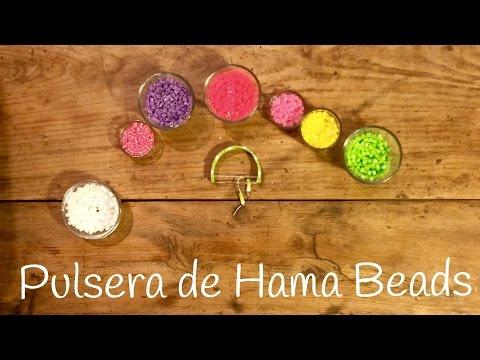 Pulseras de Hama Beads fáciles de hacer, rápidas y bonitas