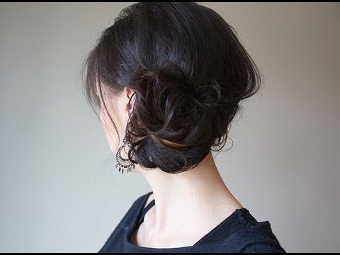 creative hairstyles 3 minute updo