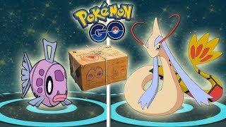 RECOMPENSA y EVOLUCIÓN de FEEBAS SHINY a MILOTIC SHINY en Pokémon GO [Keibron]