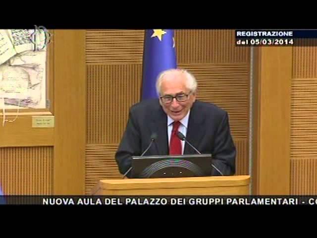 Costituzione e legge elettorale - On. Manzella