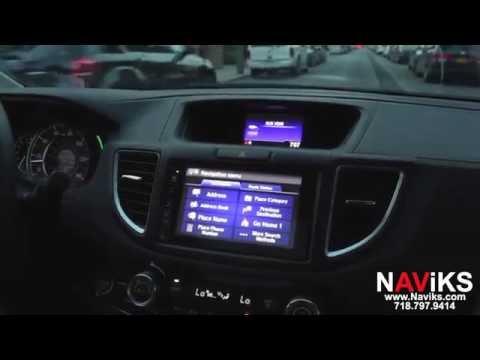 2016 Honda CR-V NAViKS Motion Lockout Bypass Enable Nav Address input & HDMI usage in motion