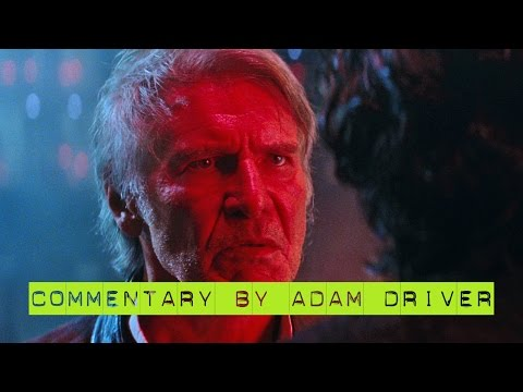 Star Wars The Force Awakens 3D | Han vs. Ben COMMENTARY clip (2016)