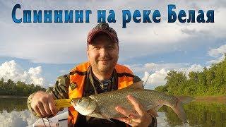 Рыбалка в Башкирии. Хорошая щука. Р Белая.