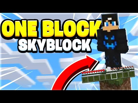 One block survival map for mcpe is an application that allowed you to easily installed this map into your minecraft pocket edition game. How To Download One Block Skyblock In Minecraft Bedrock Edition Tagalog Working 2020 Youtube
