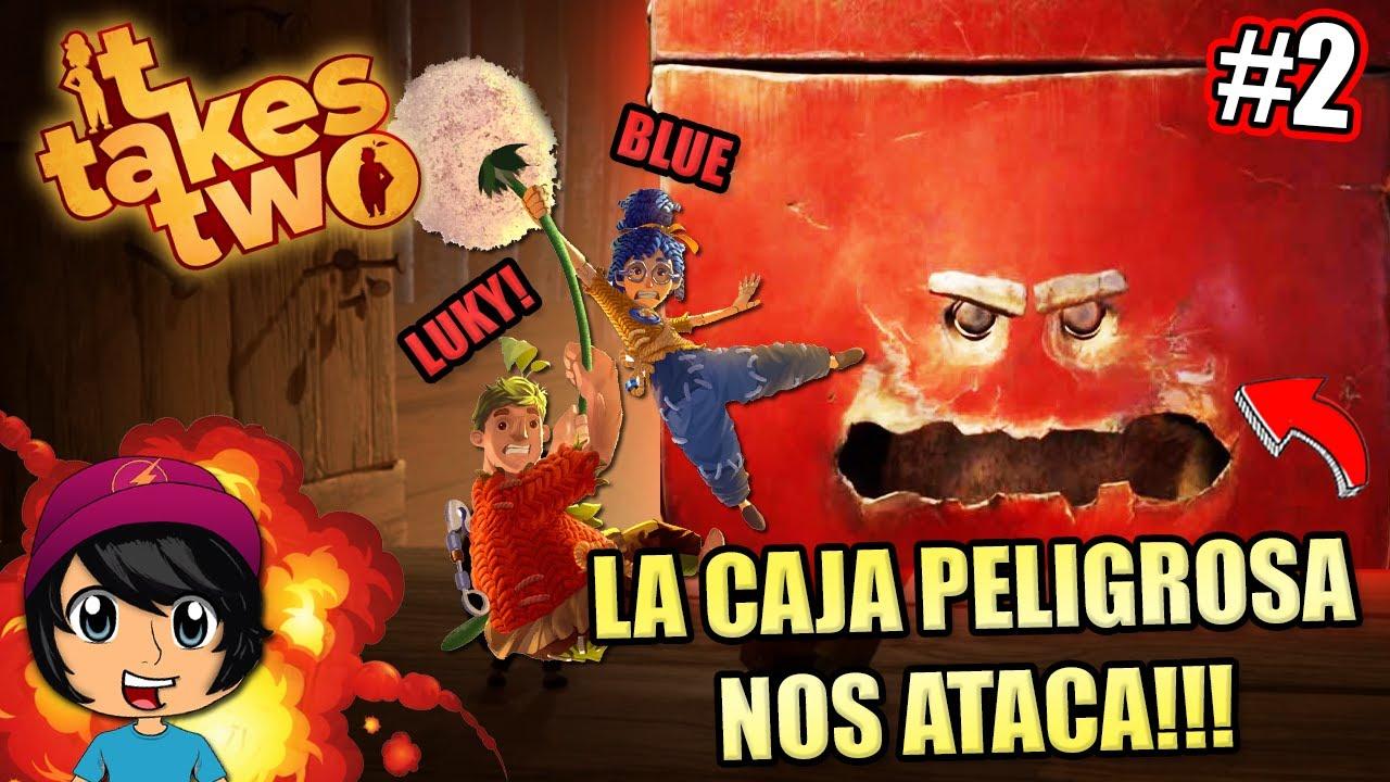 LA CAJA PELIGROSA NOS ATACA! CAPITULO 2! | Soy Blue | It Takes Two