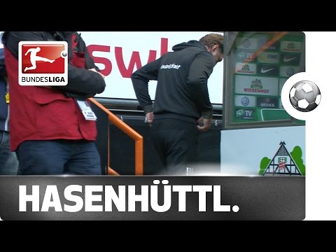 Nervous Coach Hasenhüttl Misses Winning Goal
