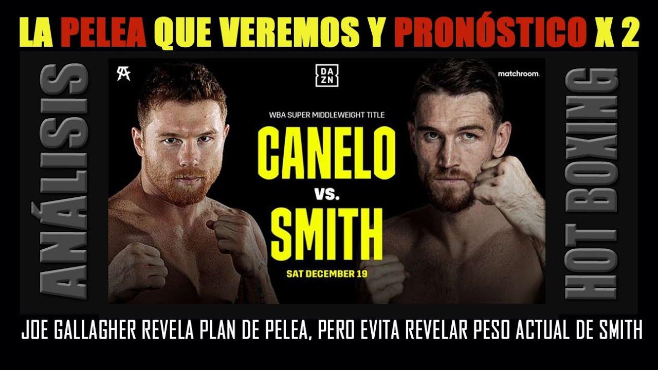 Canelo vs.Smith, la pelea que veremos, el pronóstico, el plan de Gallagher y la clave oculta