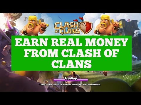 [CLASH OF CLANS] HOW TO EARN MONEY FROM COC GAME