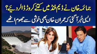 Jemima Khan donate Money for Pakistan Dam Fund