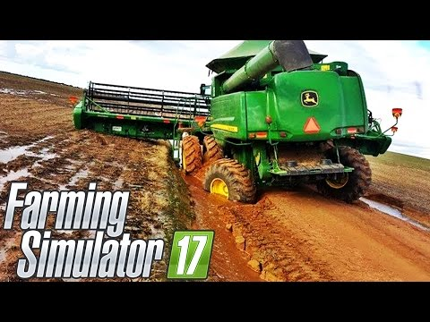 Fazenda Nova Fantinati [Mapa Maringá PARANÁ] - Farming Simulator 2017 + Logitech G27!!